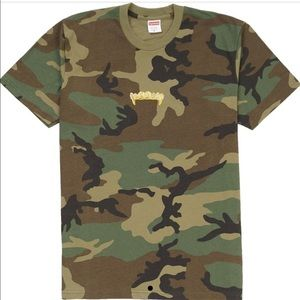 SUPREME CAMO T-Shirt authentic